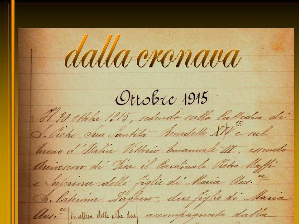 Benedetto XV Card. P. Maffi Vittorio E. lll M. C. Daghero