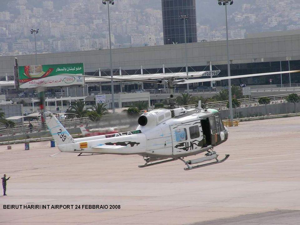 BEIRUT HARIRI INT AIRPORT 24 FEBBRAIO 2008