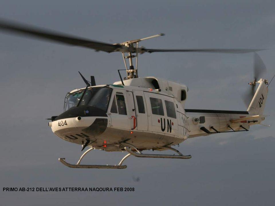 PRIMO AB-212 DELLAVES ATTERRA A NAQOURA FEB 2008