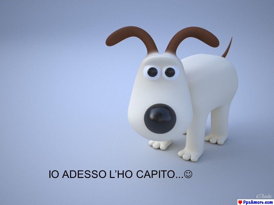IO ADESSO LHO CAPITO...
