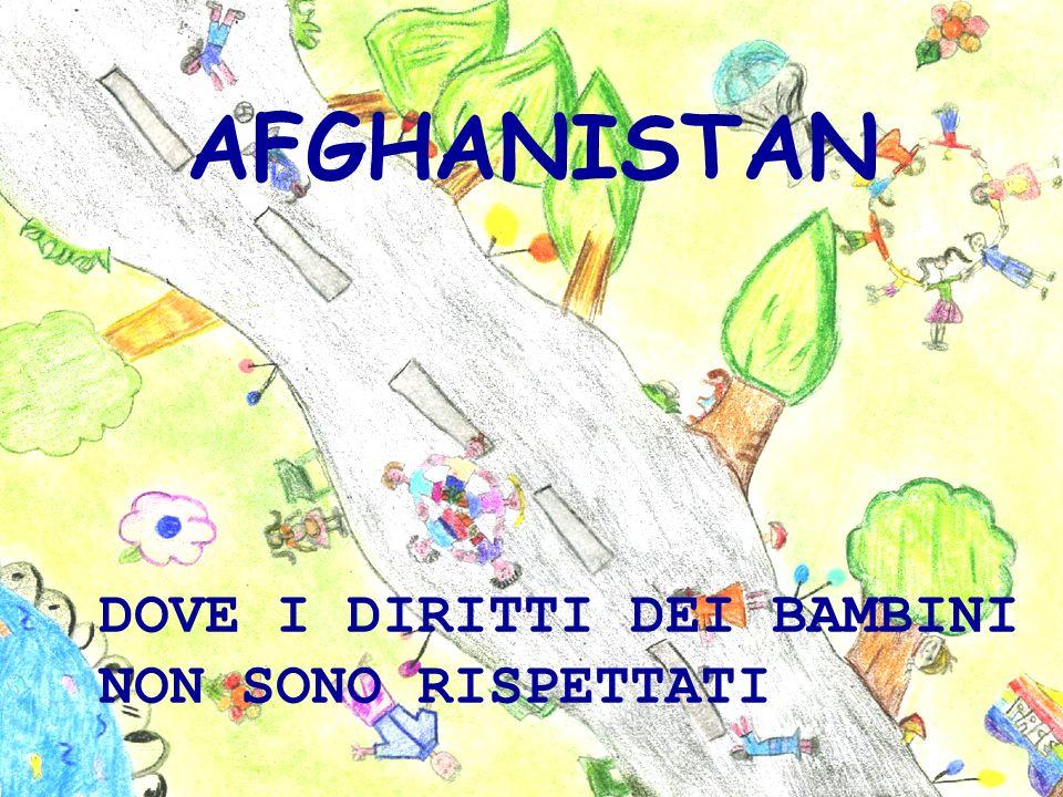 Tutti questi diritti sono negati ai bambini afghani