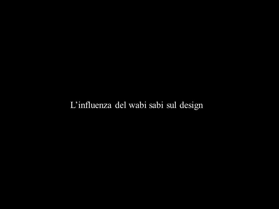 Linfluenza del wabi sabi sul design