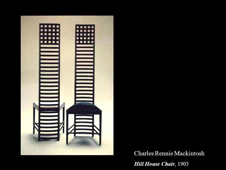 Charles Rennie Mackintosh Hill House Chair, 1903