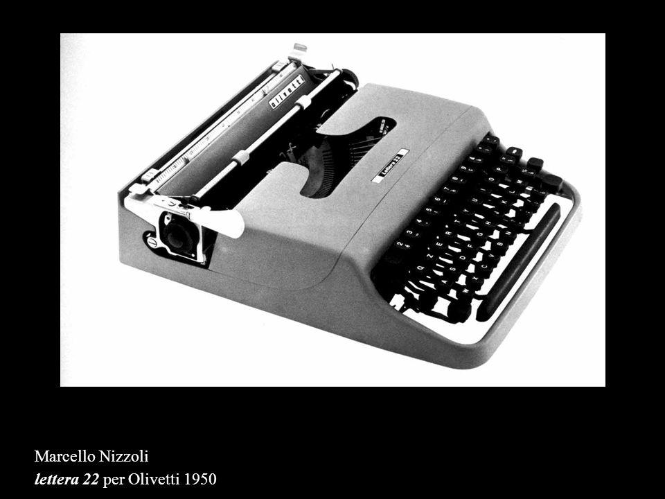 Marcello Nizzoli lettera 22 per Olivetti 1950