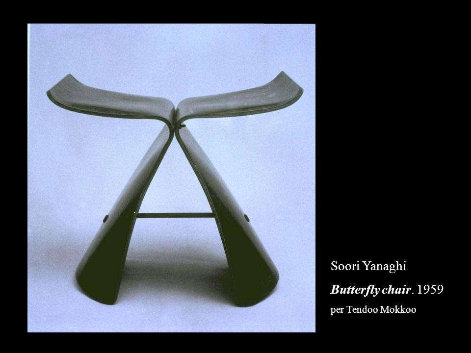 Soori Yanaghi Butterfly chair. 1959 per Tendoo Mokkoo