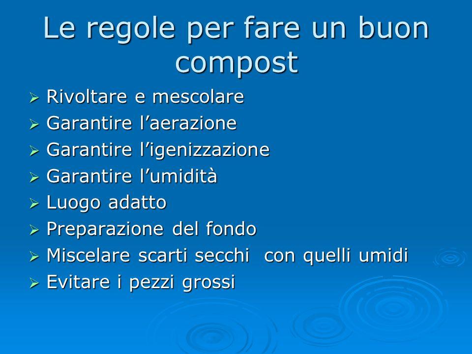 ...imitato dal compostaggio Con il compostaggio vogliamo imitare, riproducendoli in forme controllate e accurate, i processi che in natura riconsegnan