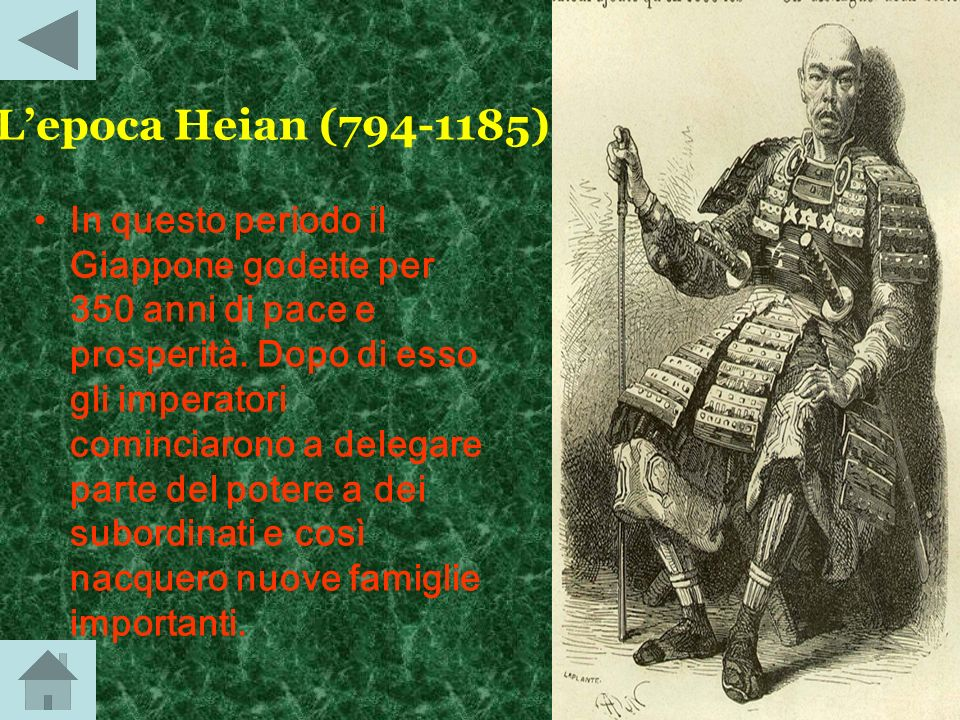 Lepoca nara (710-794) Durante limpero Shomu, il Giappone conobbe un grande sviluppo culturale, infatti regnarono le dinastie Tang e il Giappone divenn