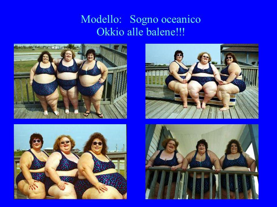 Modello: Sogno oceanico Okkio alle balene!!!
