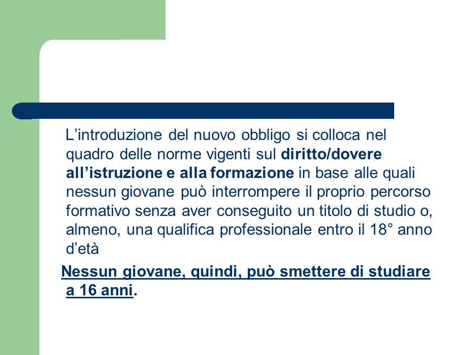 In Italia il 20.6% di giovani tra i 18 e i 24 anni esce dal sistema di istruzione senza né qualifica né diploma ed è in possesso della sola licenza media.