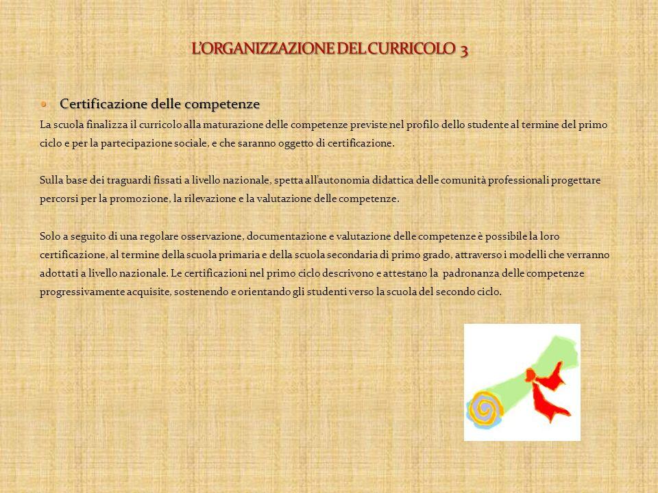 Traguardi per lo sviluppo delle competenze Traguardi per lo sviluppo delle competenze Al termine della scuola dellinfanzia, della scuola primaria e de
