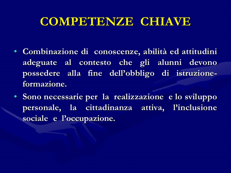 SAPERI Competenza Competenza Abilità / capacità Abilità / capacità Conoscenza teorica e pratica.