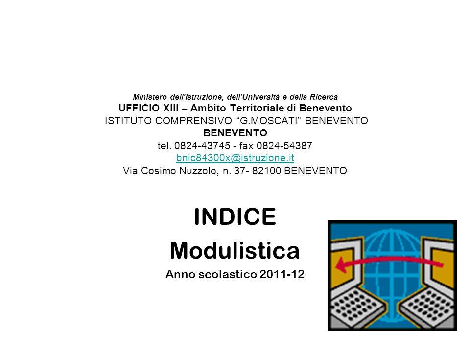 Ministero dellIstruzione, dellUniversità e della Ricerca UFFICIO XIII – Ambito Territoriale di Benevento ISTITUTO COMPRENSIVO G.MOSCATI BENEVENTO BENE