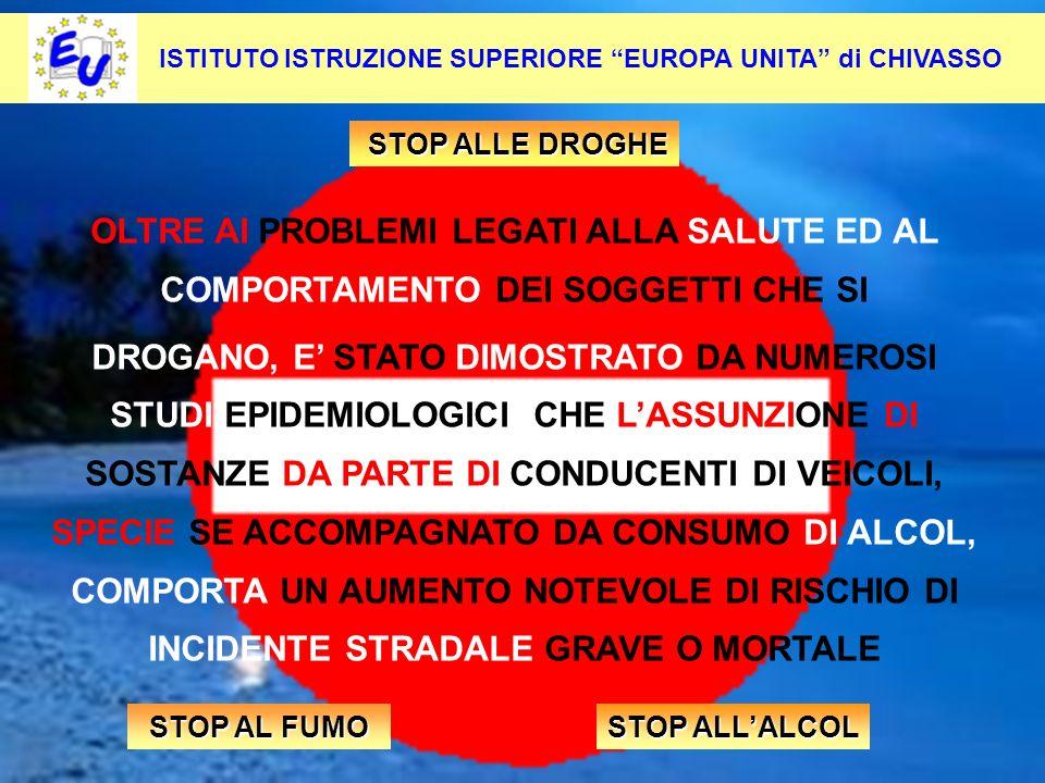 55 Per contrastare questo fenomeno occorre: Pevenirlo alla radice ISTITUTO ISTRUZIONE SUPERIORE EUROPA UNITA di CHIVASSO OLTRE AI PROBLEMI LEGATI ALLA