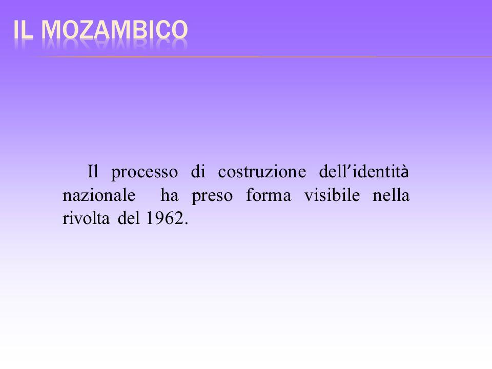 Il processo di costruzione dell identit à nazionale ha preso forma visibile nella rivolta del 1962.