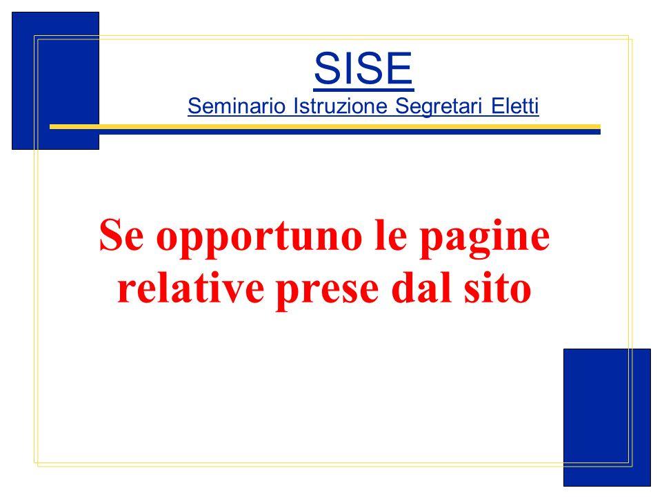 Carlo Michelotti, Gov.Distr.1980 (1996/97) SISE Seminario Istruzione Segretari Eletti Se opportuno le pagine relative prese dal sito