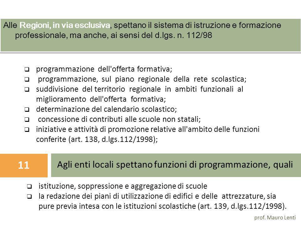 Autonomia Scolastica delle istituzioni scolastiche Dpr 275/99 prof.