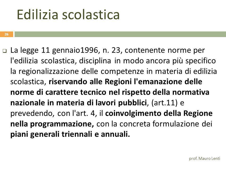 Le competenze amministrative attribuite alle Regioni prima della riforma del titolo V D.P.R.