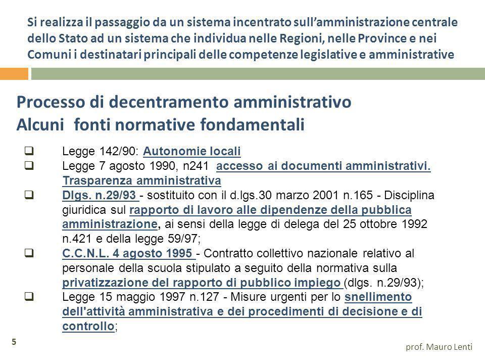 Ulteriori competenze amministrative dei comuni Dlgs 112/98 II D.lgs.