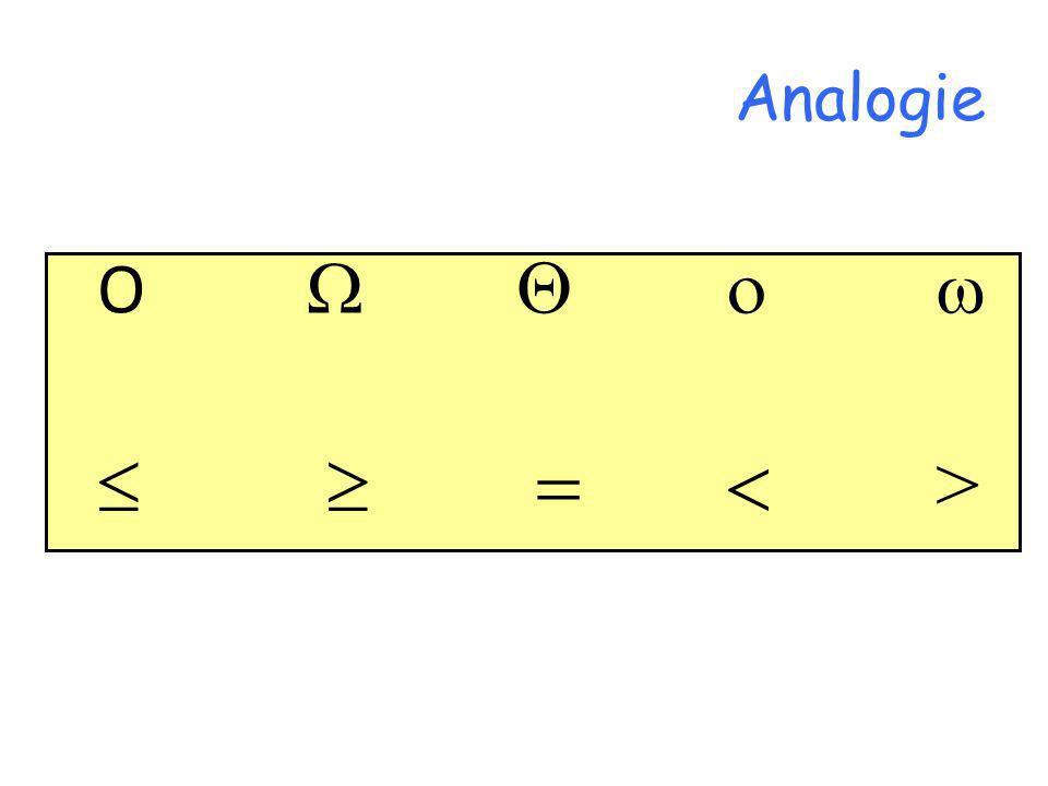 Analogie O >