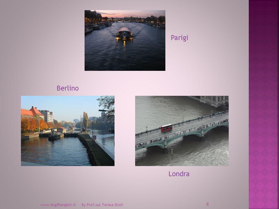 www.itcgfilangieri.it By Prof.ssa Teresa Sicoli 8 Parigi Londra Berlino