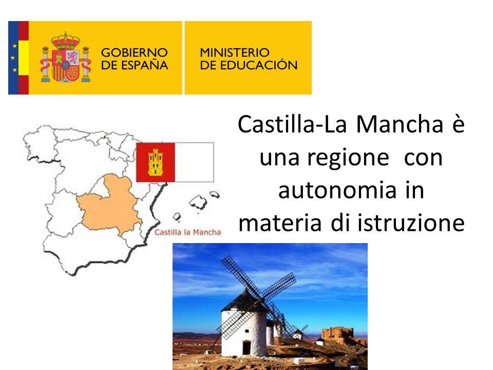 Castilla-La Mancha è una regione con autonomia in materia di istruzione