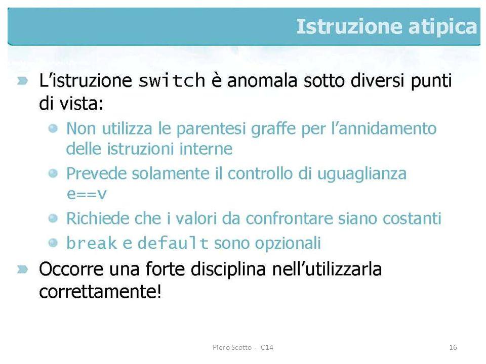 Piero Scotto - C1416