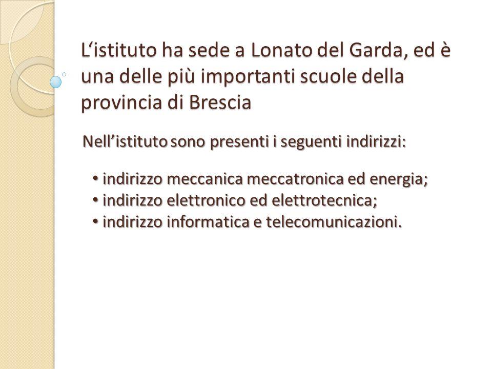 ISTITUTO DI ISTRUZIONE SUPERIORE Luigi Cerebotani