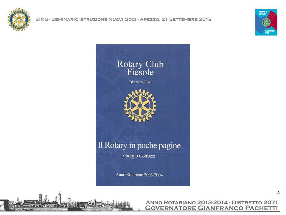SINS - Seminario Istruzione Nuovi Soci - Arezzo, 21 Settembre 2013 24