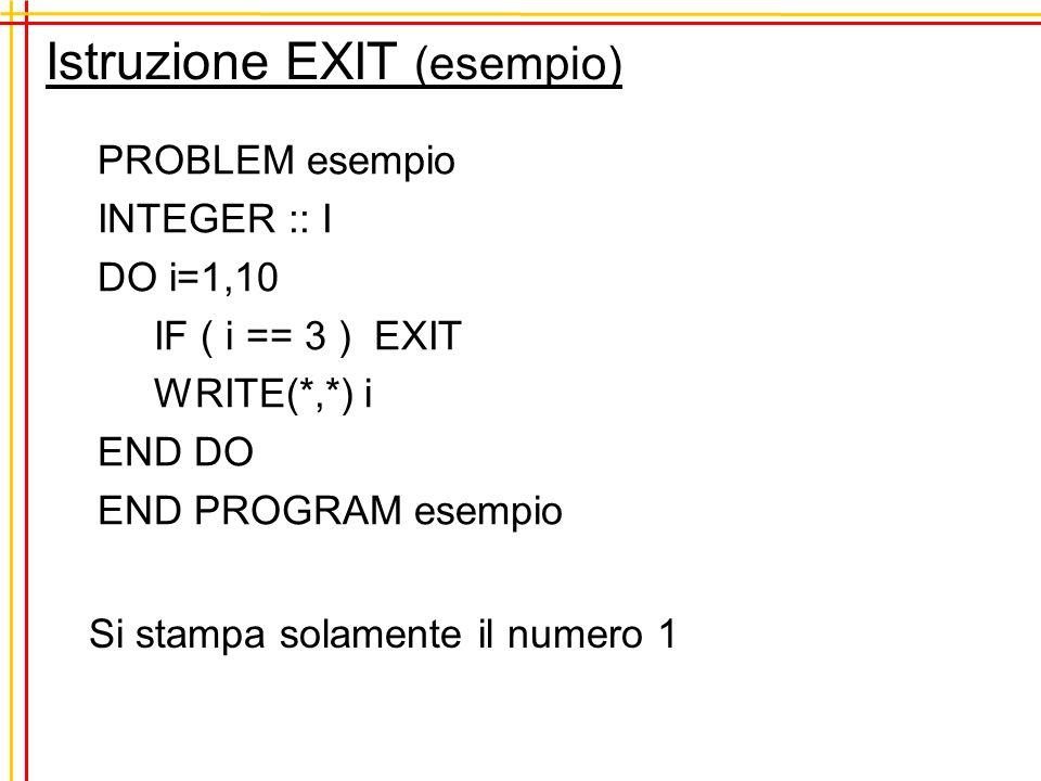 Inizializzazione della sequenza RANDOM_SEED() imposta linnesco della sequenza random s ad un valore ottenuto sulla base del tempo di sistema.