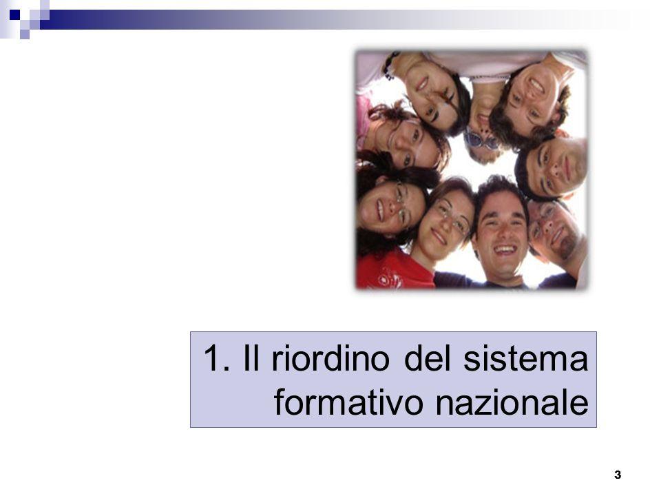 4 Le ultime riforme in Italia Licei: 1923 Istituti tecnici: 1931 Formazione professionale: 1978 Istituti professionali: 1992