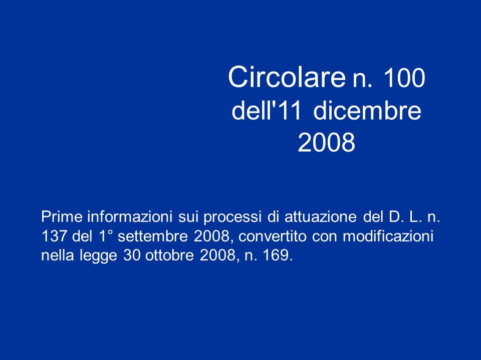 Prime informazioni sui processi di attuazione del D.