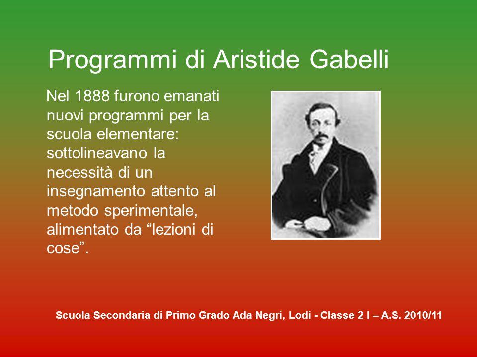 FINE Scuola Secondaria di Primo Grado Ada Negri, Lodi - Classe 2 I – A.S. 2010/11