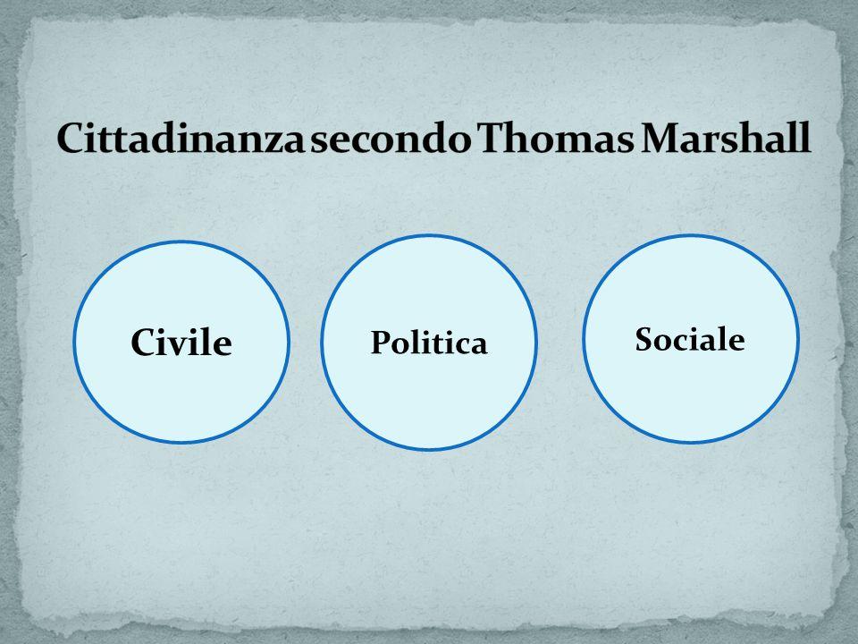 Il principio generale del riconoscimento dei diritti ai cittadini italiani è contenuto nellart.