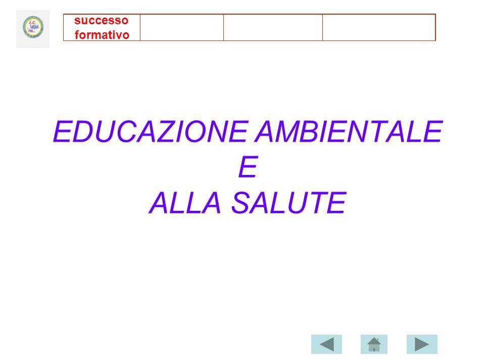 EDUCAZIONE AMBIENTALE E ALLA SALUTE successo formativo