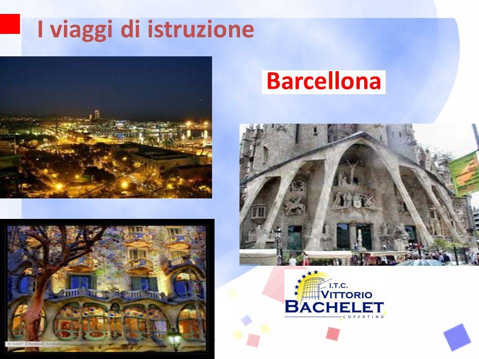 I viaggi di istruzione Barcellona