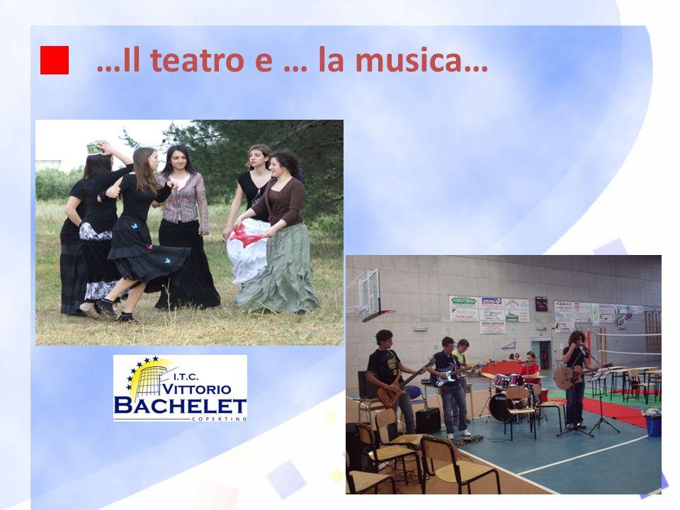 …Il teatro e … la musica…