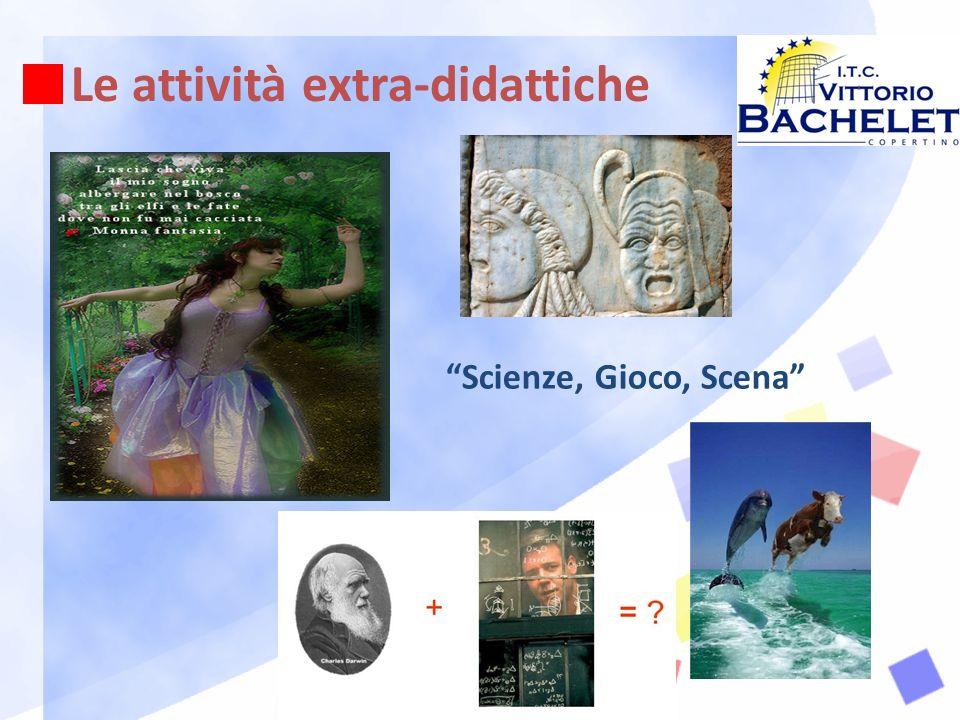 Le attività extra-didattiche Scienze, Gioco, Scena