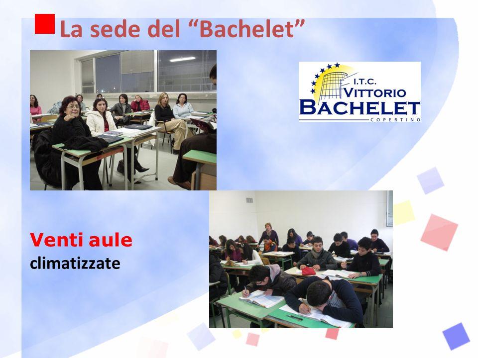 La sede del Bachelet Venti aule climatizzate