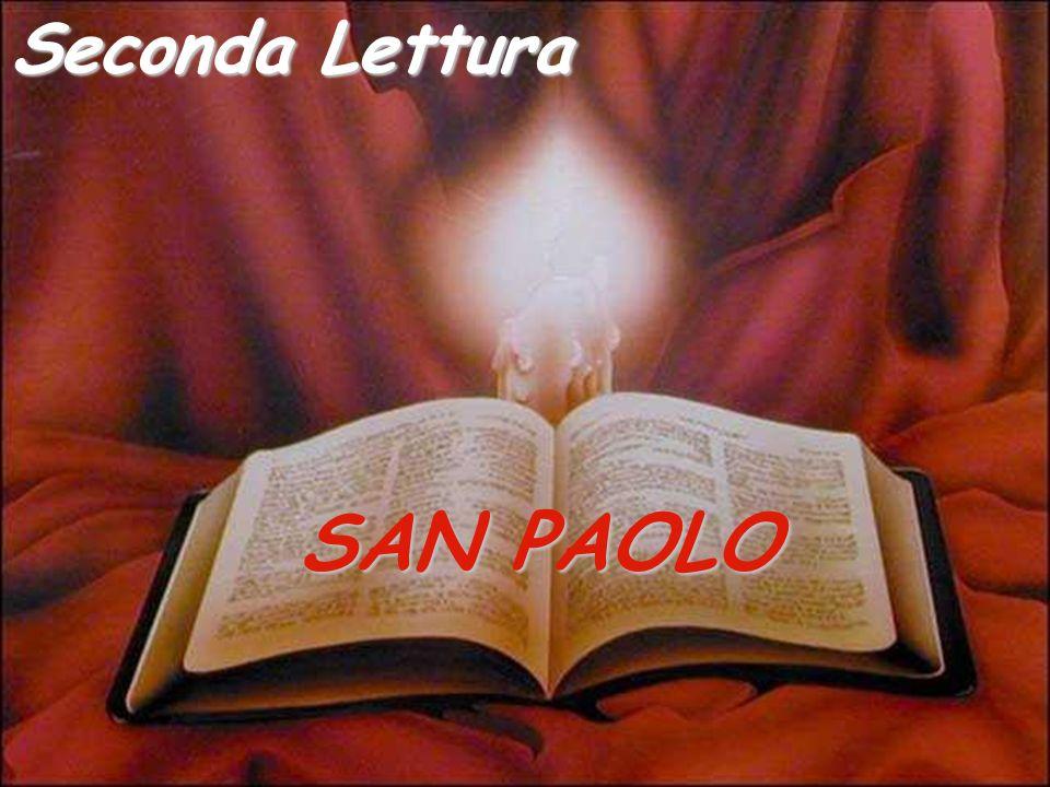 SAN PAOLO Seconda Lettura