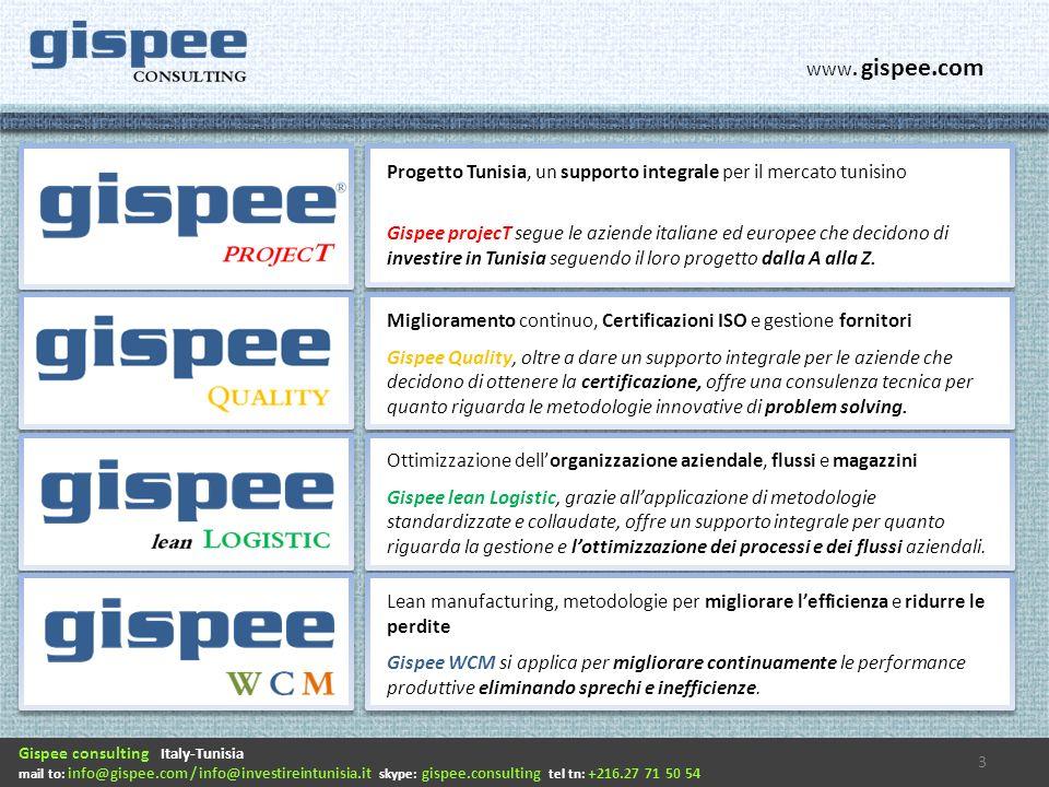 Progetto Tunisia, un supporto integrale per il mercato tunisino Gispee projecT segue le aziende italiane ed europee che decidono di investire in Tunisia seguendo il loro progetto dalla A alla Z.