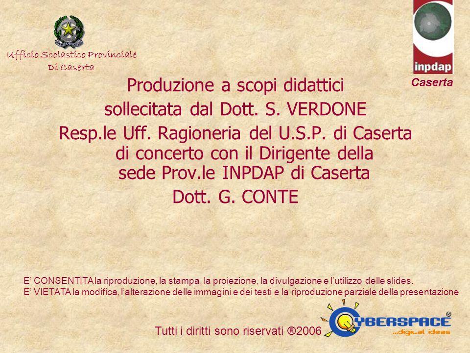 Ufficio Scolastico Regionale della Campania Ufficio Scolstico Provinciale di Caserta Direzione Didattica Statale di Cesa (Caserta) Produzione a scopi didattici sollecitata dal Dott.