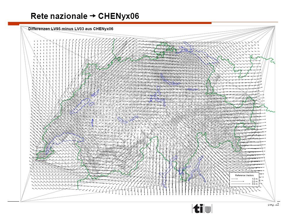 pag. 22 Rete nazionale CHENyx06
