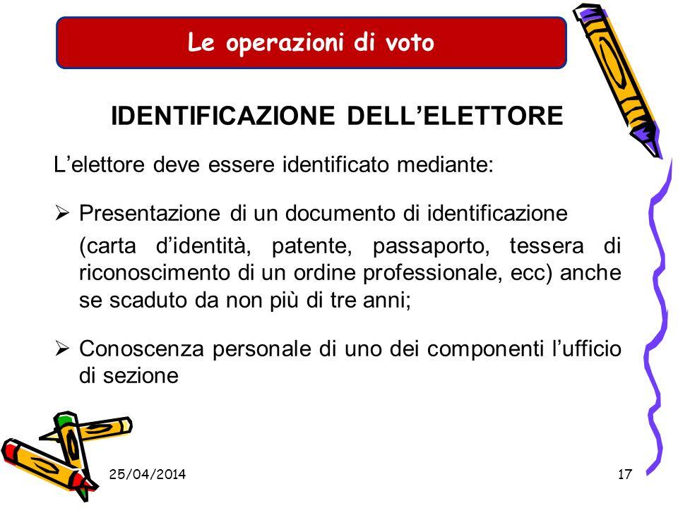 Le operazioni di voto SABATO 6 GIUGNO Ore15,00 Inizio delle votazioni Ore 22,00 Sospensione delle votazioni DOMENICA 7 GIUGNO Ore 7,00 Ripresa delle v
