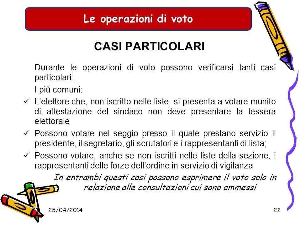 Le operazioni di voto ESPRESSIONE DEL VOTO Allelettore saranno consegnate tre schede: Elezione membri parlamento europeo (colore grigio) Elezioni prov