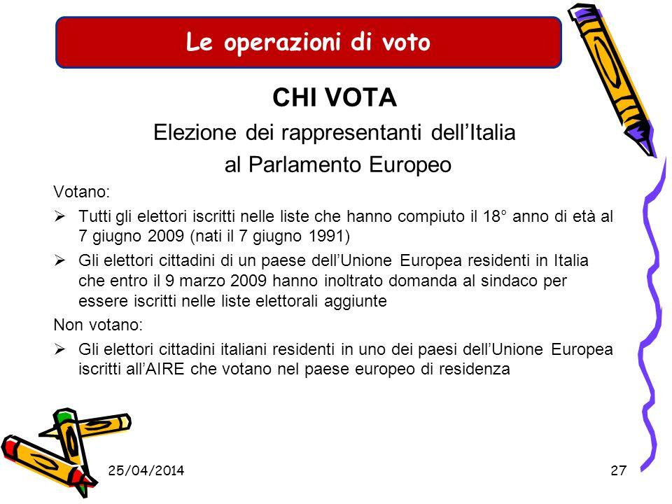 Le operazioni di voto IL VOTO ASSISTITO Gli elettori fisicamente impediti possono esprimere il voto con lassistenza di un elettore della propria famig
