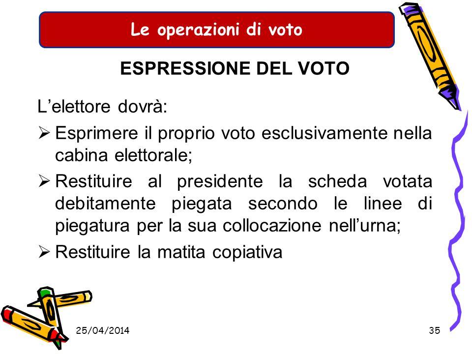 Le operazioni di voto IL VOTO A DOMICILIO Con lapprovazione del D.L n. 1/2006 convertito nella L. 22/2006 è stato introdotto il principio del voto dom