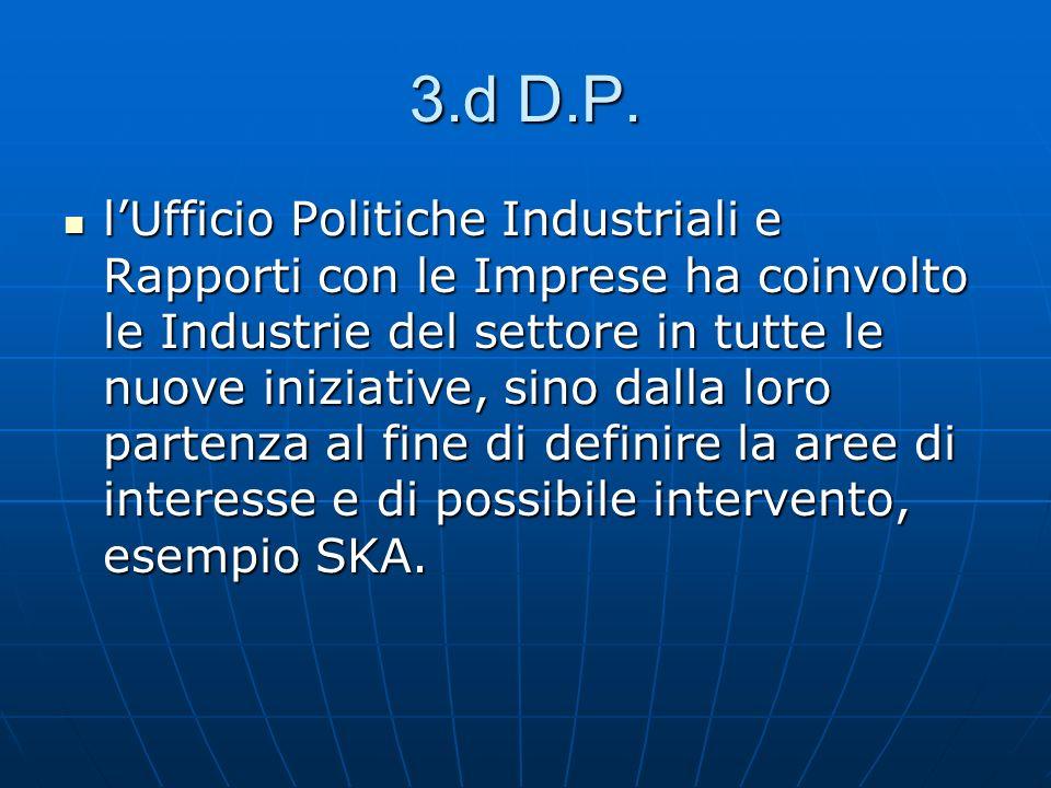 3.d D.P.