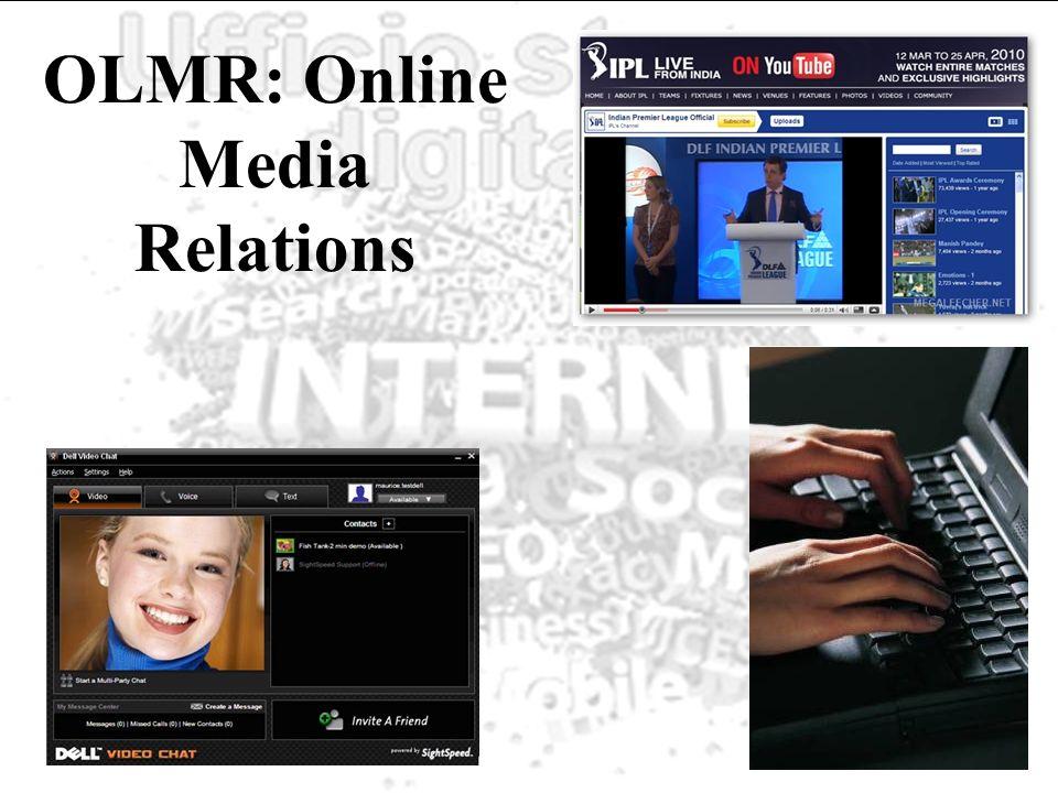 OLMR: Online Media Relations
