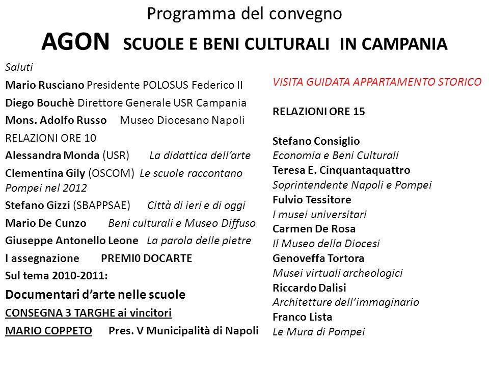 S.Consiglio C.Gily A.Monda S.Gizzi M.De Cunzo