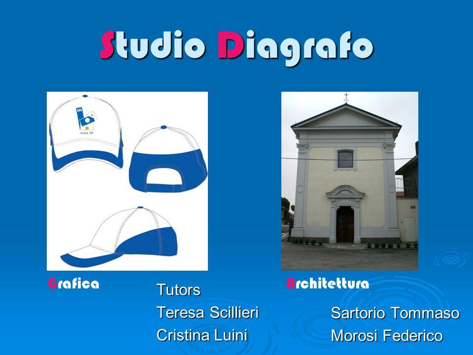 Studio Diagrafo Sartorio Tommaso Morosi Federico GraficaArchitettura Tutors Teresa Scillieri Cristina Luini